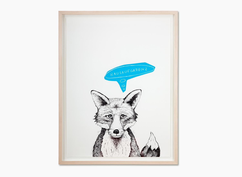 Der Fuchs · Blau