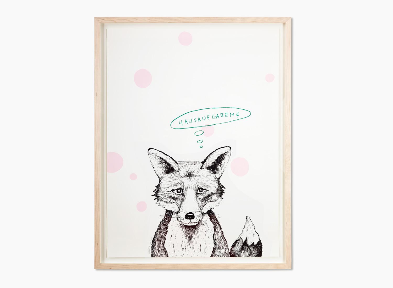 Der Fuchs · Rosa Punkte