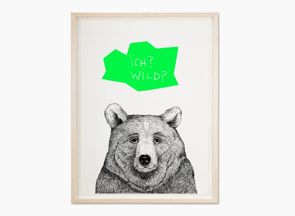 Der Bär · Neon Grün