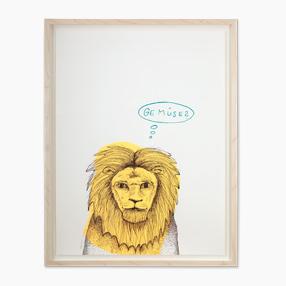 Der Löwe · Orange