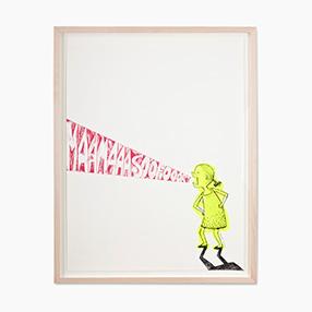 Das Mädchen · Neon Gelb