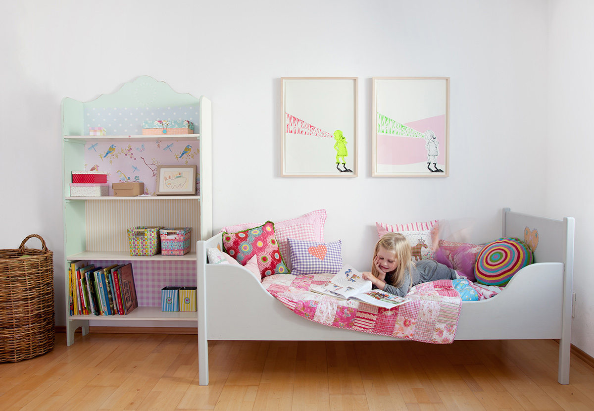 tattii galerie kunst f r kinderzimmer. Black Bedroom Furniture Sets. Home Design Ideas